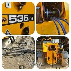 Jcb Loadall Telehandler 535-95 Hydraulic Hose Kit