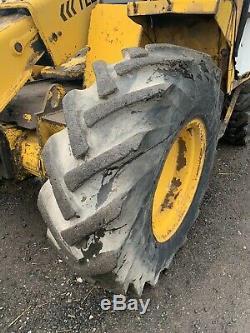 Jcb Loadall Telehandler Excavator Digger, Volvo Daewoo Or Doosan