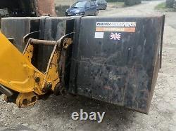 Jcb Telehandler Bucket Fits Loader Or Tractor