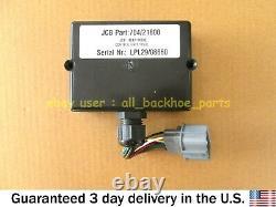 Jcb Telehandler Genuine Jcb Relay Box P. C. B Steer Mode (part No. 704/21600)