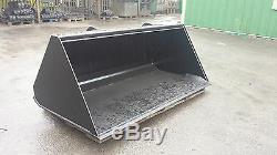 Jcb Telehandler Hd Bucket -8 Ft Wide 1.86 Cum Cap- For A 9m + Lift Machine