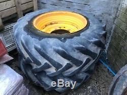 Jcb Telehandler Wheels/tyres X 2