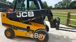 Jcb Teletruk Tlt25g Telescopic Forklift Truck 2015 Lpg 2wd 4861 Hours 4m Boom