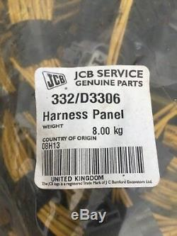 Jcb Wiring Loom Panel Harness P/n 332/d3306 Australian 540-170 Telehandler