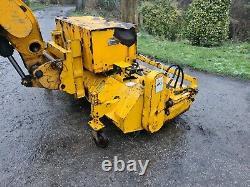 Jcb loadall telehandler Yard/road sweeper/brush