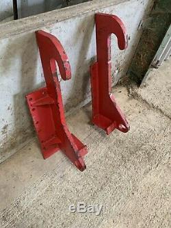 Jcb q fit brackets, JCB, tractor, Bucket, Telehandler