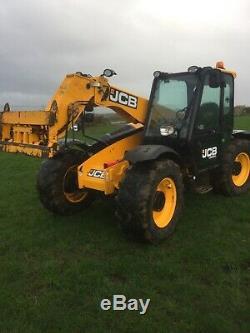 Jcb telehandler 526-56 Agri Plus loadall loader warranty