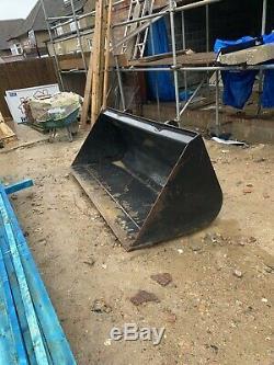 Jcb telehandler bucket