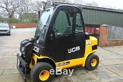 Jcb tlt35d 4x4, 3500kg diesel forklift, telehandler, rough terrain, loadall