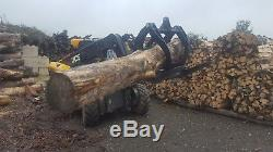 Kellfri Log bucket/grapple/grab for loader/shovel/telehandler/tractor £950+Vat