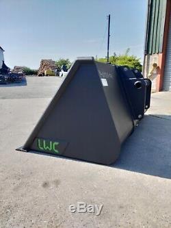 LWC Heavy Duty Telehandler Bucket 2.3m 1m3 from £845 + VAT JCB Manitou Merlo