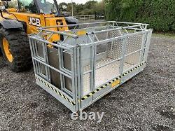 MAN BASKET 2 Way Hydraulic swiveling / 4 Metre / JCB Telehandler / Loadall