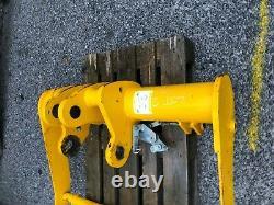 Magni, crane, jib, JCB, Attachment, winch, telehandler attachment, truss jib