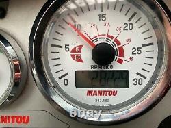 Manitou 634-120 PS CRC elite 2014 loadall TELEHANDLER TELEPORTER FORKLIFT JCB