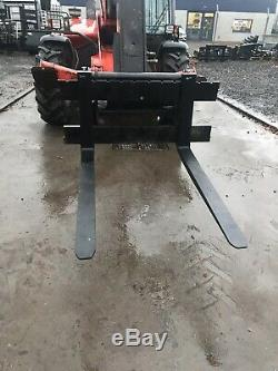 Manitou Fork Carriage To Fit Merlo JCB Class Telehandler Pallet Forks