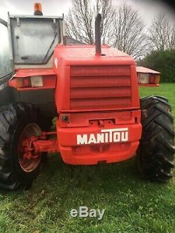 Manitou MLT 625 Telehandler Not JCB MERLO Forklift