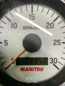 Manitou MLT 627 turbo 2007 loadall TELEHANDLER TELEPORTER FORKLIFT JCB