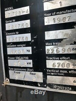 Manitou MT728-4 Telehandler We Stock JCB CAT MERLO PART EX 7 Metre Lift