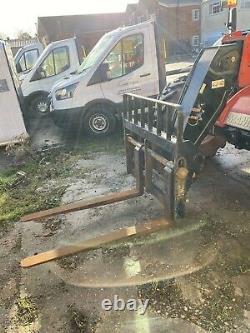 Manitou MT732 Telehandler Forklift 2018