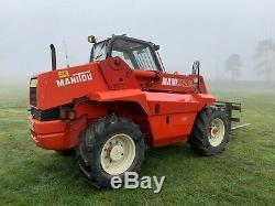 Manitou Mlt 523 Telescopic Loader Forklift Farm Telehandler Teleporter Jcb
