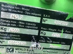 Merlo 40.7 Telehandler 2010 4 Ton 7 Metre We Stock Manitou JCB Loadall