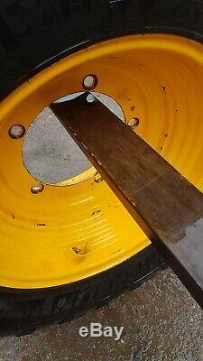 Michelin bibload 460r24 17.5 r 24 jcb loadall telehandler tm 5 stud