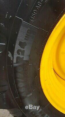Michelin xmcl 460/70 r24 17.5r24 jcb loadall telehandler tm320 agri waste