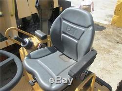 Milsco Cr100 Seat Assy Inc Switch Cat Caterpillar Roller Telehandler Loader Jcb