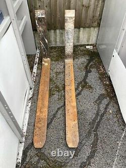 Pair Of TELEHANDLERS JCB Forks 39mm P/D 1070mm Long Depth