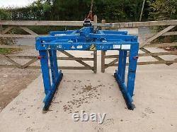Probst Brick Block Grab scissor lift hiab crane Digger Telehandler JCB £700+vat