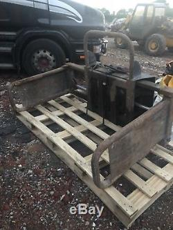 Round / Square Bale Grab For Telehandler Jcb Loadall Manitou Not Tractor