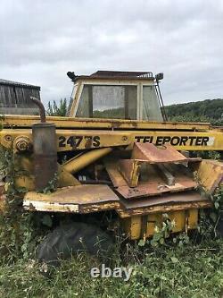 Sanderson 247 Telehandler, Teleported, Not Jcb Or Matbro. Loader Tractor