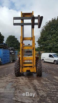 Sanderson 5 Ton Straight Mast Forklift Manitou Loadall Telehandler JCB Merlo CAT