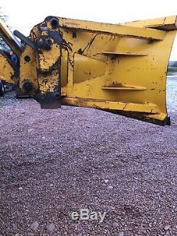 Snow Plough Jcb Brackets Telehandler Snow Plough Pusher