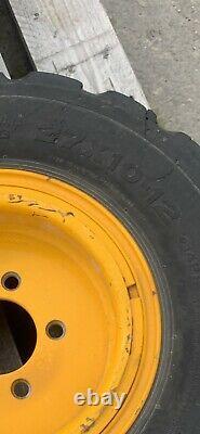 Solideal 27x10-12 Wheels JCB Telehandler