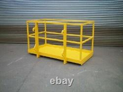 Telehandler 2.0M x 1.0M Manlift Safety Basket (JCB Manitou, Merlo, Matbro, Euro)