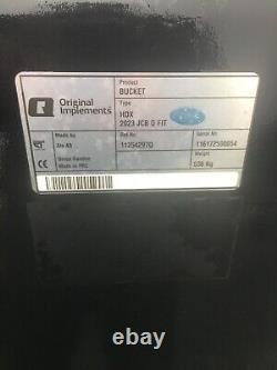 Telehandler Bucket (Alco AB) 7ft On JCB Q Fit Brackets (NEW) Plus Vat