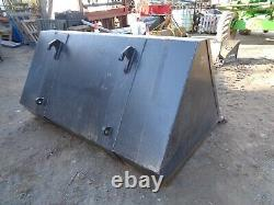 Telehandler Bucket JCB Q-fit Brackets 2.13m £895+vat