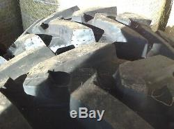 Telehandler tyres jcb manitou cat merlo tractor loader
