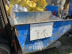Tipping Skip Forklift Jcb Telehandler Scrap Waste