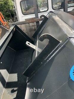TitusHeavy Duty Telehandler Bucket 2.3m 1.5m3 from £1195 + VAT JCB Manitou Merlo