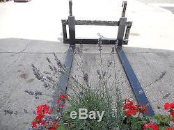 Tractor/telehandler 3.5t Pallet Forks / Tines Jcb Q Fit Bracket Vat Included