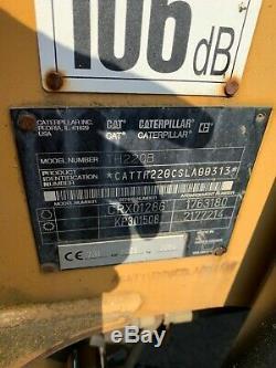 Used telehandler forklift Caterpillar not jcb merlo beautifull condition