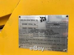 Vintage JCB 520 Telehandler